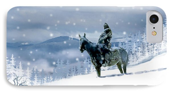 The Winter Journey IPhone Case