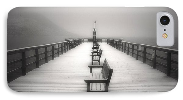 The Winter Pier IPhone Case by Tara Turner