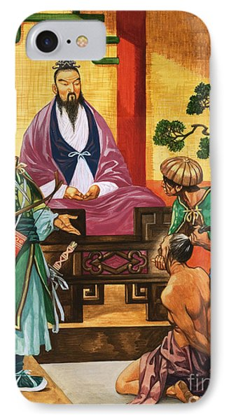 The Wise Man Of China  Confucious IPhone Case by Peter Jackson