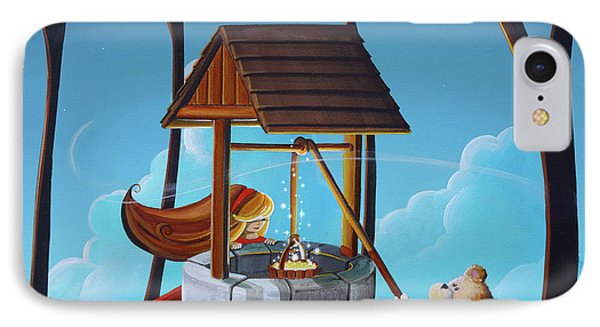 The Wishing Well IPhone Case by Cindy Thornton