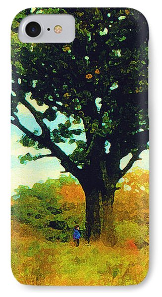 The Witness Tree IPhone Case
