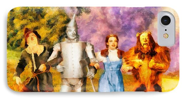 The Wizard Of Oz Cast IPhone Case by John Springfield
