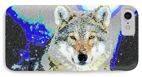 The Wolf IPhone Case by Charles Shoup