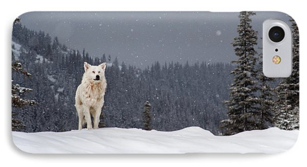 The Wolf Phone Case by Evgeni Dinev