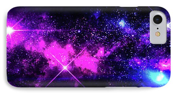The Wonders Of Space  IPhone Case by Naomi Burgess