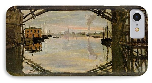 The Wooden Bridge IPhone Case by Monet