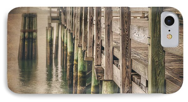 The Wooden Pier IPhone Case by Carol Japp