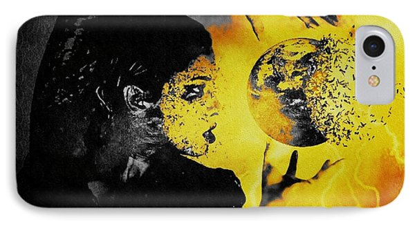 The World Is Mine IPhone Case by Jessica Shelton