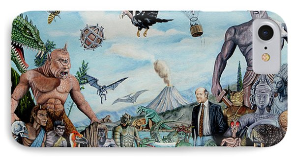The World Of Ray Harryhausen IPhone 7 Case by Tony Banos