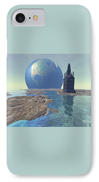 The World Turns Phone Case by Corey Ford