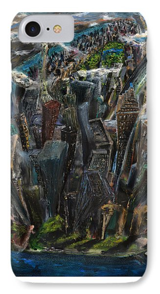 The Worlds Capital IPhone Case by Antonio Ortiz