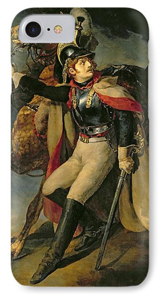 The Wounded Cuirassier Phone Case by Theodore Gericault