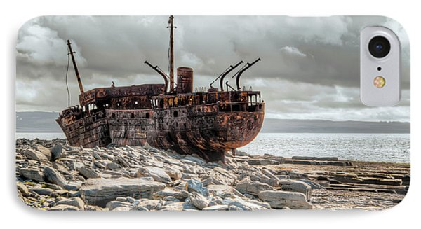 The Wreck Of Plassey IPhone Case by Natasha Bishop