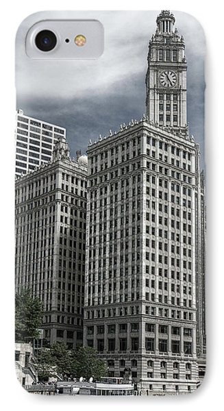 The Wrigley Building IPhone Case by Alan Toepfer