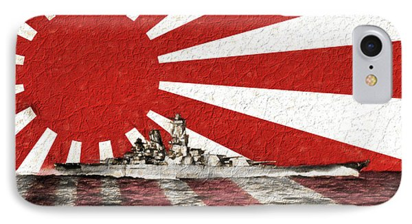 The Yamato IPhone Case by JC Findley