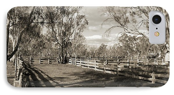 IPhone 7 Case featuring the photograph The Yards by Linda Lees