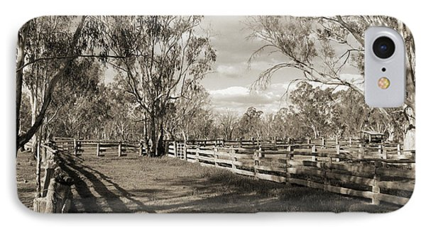 IPhone Case featuring the photograph The Yards by Linda Lees