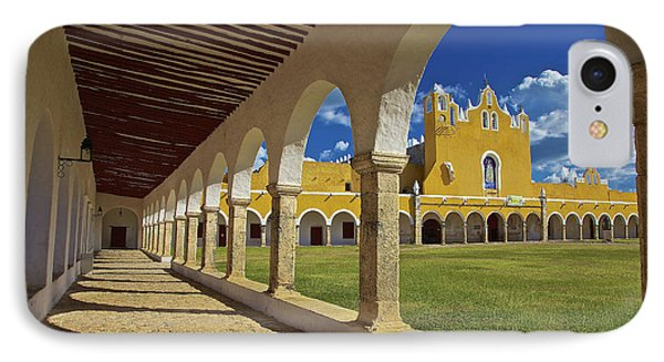 The Yellow City Of Izamal, Mexico IPhone Case by Sam Antonio Photography