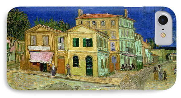 The Yellow House IPhone Case by Vincent Van Gogh