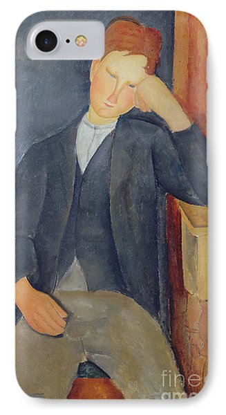 The Young Apprentice IPhone Case by Amedeo Modigliani