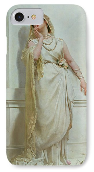 The Young Bride IPhone Case by Alcide Theophile Robaudi