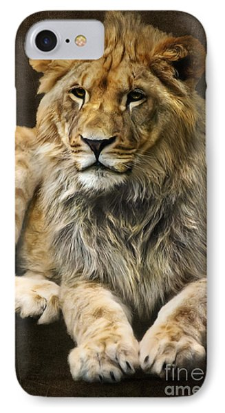 The Young Lion Phone Case by Angela Doelling AD DESIGN Photo and PhotoArt