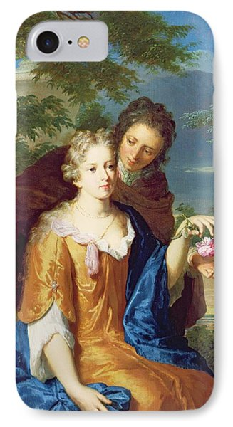 The Young Lovers Phone Case by Gerard Hoet