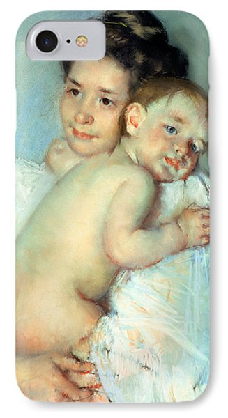 The Young Mother IPhone Case by Mary Stevenson Cassatt