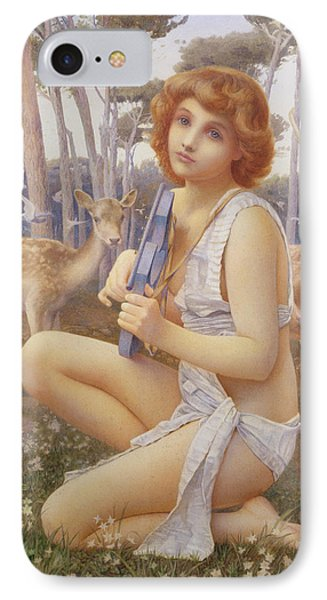 The Young Orpheus IPhone Case by Henry Ryland