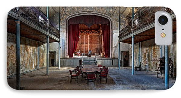 Theatre Scene - Urban Decay IPhone Case by Dirk Ercken