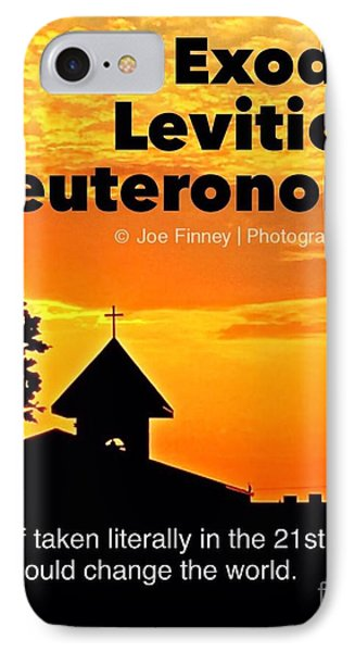IPhone Case featuring the photograph Thechurch Wsy by Joe Finney