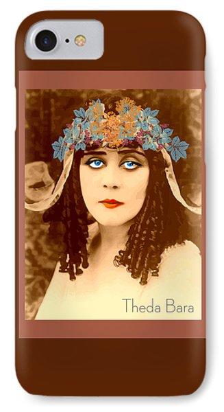 Theda Bara IPhone Case by Quim Abella