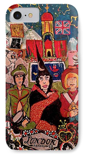 Their Satanic Majesties Request IPhone Case by Gregory McLaughlin