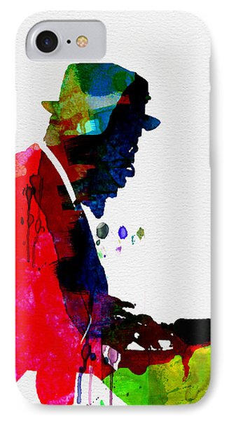 Thelonious Watercolor IPhone Case by Naxart Studio