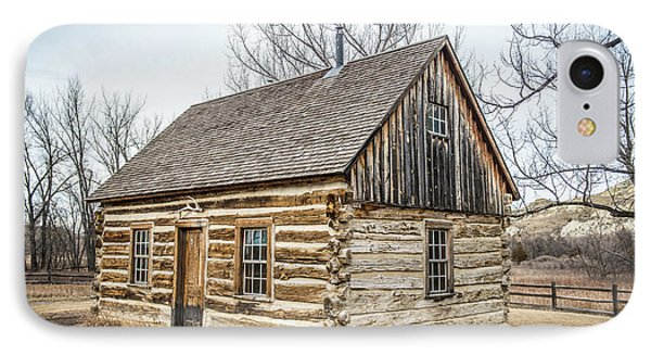 Theodore Roosevelt Cabin End IPhone Case by Paul Freidlund