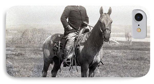 Theodore Roosevelt Horseback - C 1903 IPhone Case by International  Images