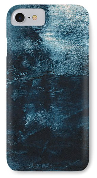 There When I Need You- Abstract Art By Linda Woods IPhone Case by Linda Woods