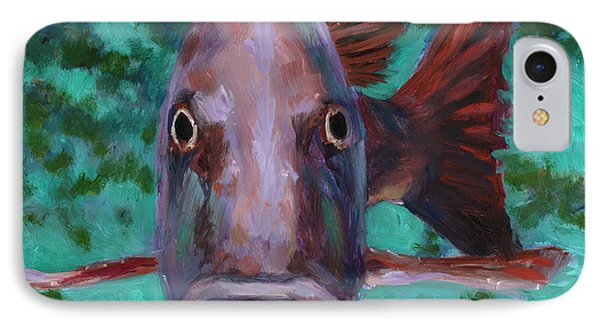 There's Something Fishy Going On Here IPhone Case by Billie Colson