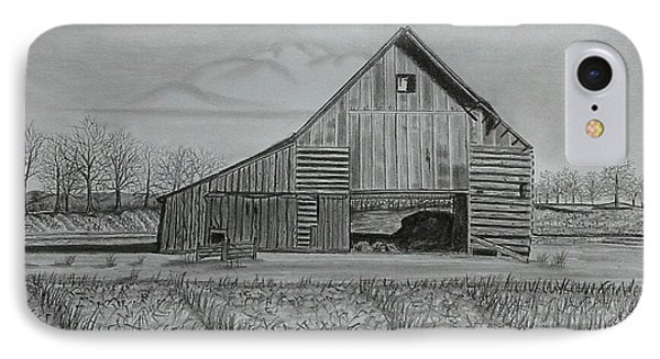 Theresa's Barn IPhone Case by Tony Clark
