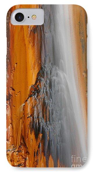 Thermal Waterfall Phone Case by Gaspar Avila