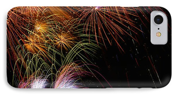 These Are Fireworks From Navy Pier. It IPhone Case by Panoramic Images