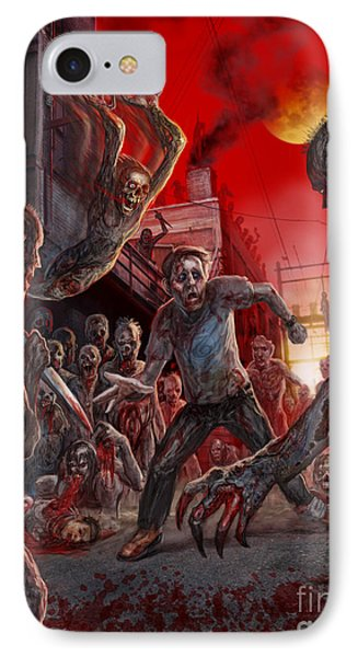 These Last Days Of Humanity  IPhone Case by Tony Koehl
