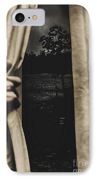 They Wait Outside IPhone Case by Jorgo Photography - Wall Art Gallery