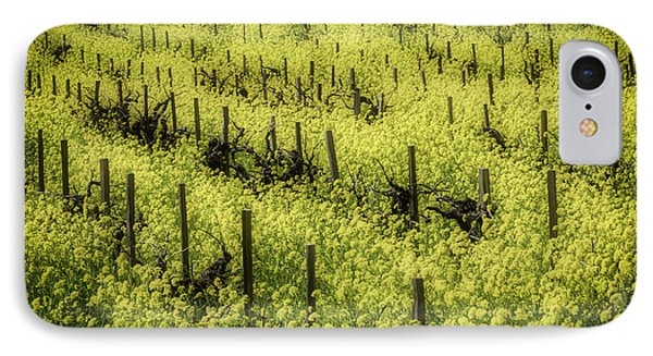 Thick With Mustard Grass IPhone Case by Garry Gay