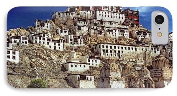 Thiksey Monastery Phone Case by Steve Harrington