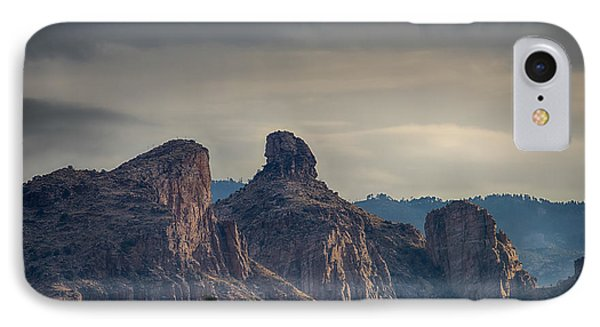 IPhone Case featuring the photograph Thimble Peak Sunrise by Dan McManus