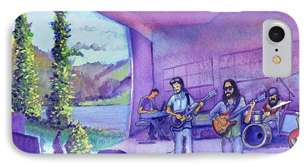 IPhone Case featuring the painting Thin Air At Dillon Amphitheater by David Sockrider