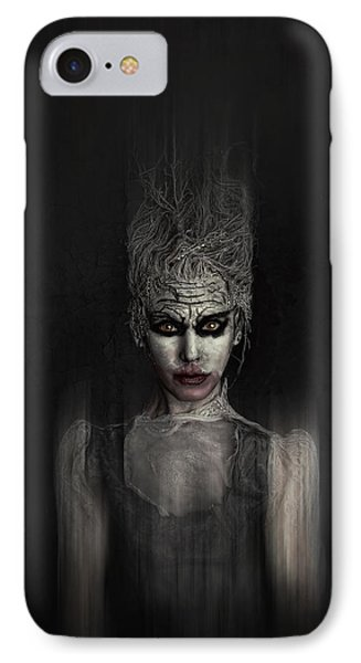 Thing 1 IPhone Case by Spokenin RED