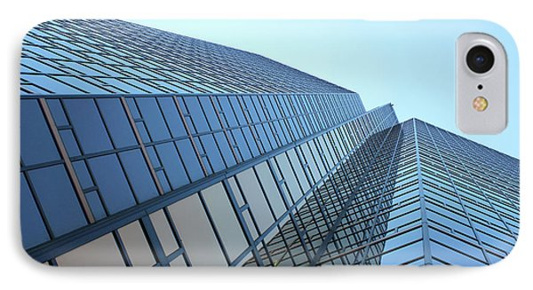 Things Are Looking Up Southfield Michigan Town Center Building Perspective IPhone Case