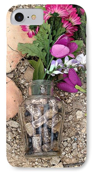 Things Remembered Terlingua Cemetary IPhone Case by Kerry Beverly